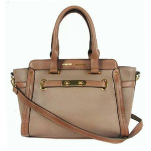 ADRIENNE VITTADINI Double Lock Leather Bag$69.00